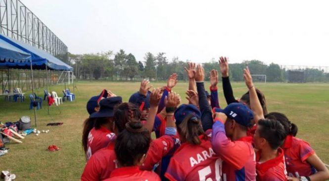 महिला टी–२० स्म्याशको उपाधिका लागि नेपालले आयाेजक थाइल्याण्डसँग खेल्ने