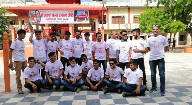 'नेपाल भ्रमण वष' प्रचारमा जुटे बाँकेका विद्यार्थी