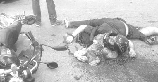 नुवाकोटमा मोटरसाइकल दुर्घटना, एकको मृत्यु