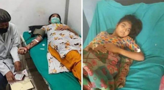 मनकारी जनप्रतिनिधि : कोहलपुरकी उप-प्रमुख चौधरीले गरिन विपन्न किशोरीलाई रक्तदान