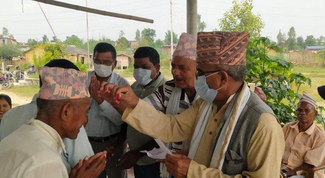 लोकनगरका नेपाली काँग्रेसमा ४३ जना प्रवेश
