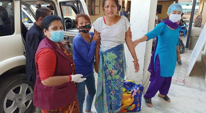 उपमेयरले गरिन् प्रसव व्यथाले सडकमा छट्पटाइरहेकी महिलाको उद्धार