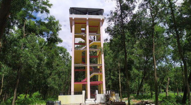 बैजनाथमा ५८ लाख लागतमा भ्यूटावर निर्माण