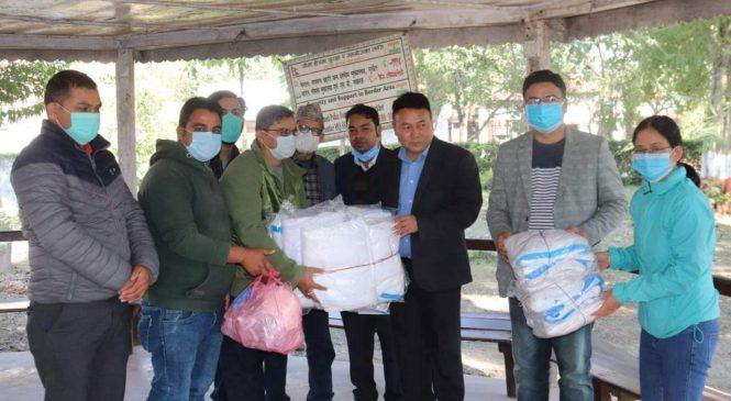 रुम टु रिड बाँकेका कर्मचारीले गरे पिपिई किट सहयोग