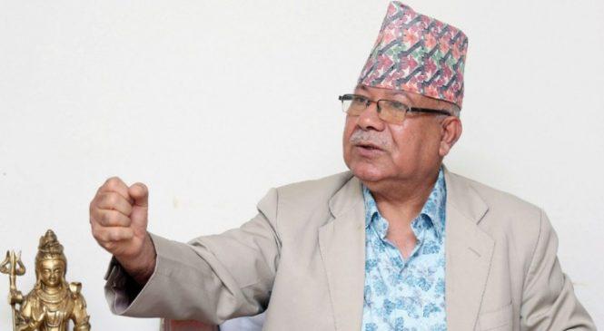 Breaking: ओली बर्खास्त भएपछि माधव नेपाल बने नेकपाको नयाँ अध्यक्ष