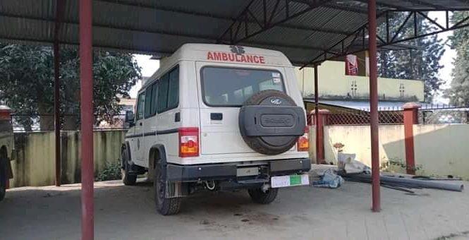 राजापुर क्षेत्रमा २ एम्बुलेन्स