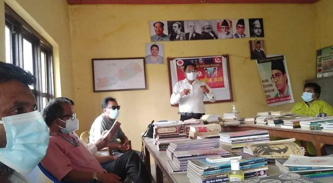 एमाले बाँकेको १५ दिने जनसेवा अभियान शुरु