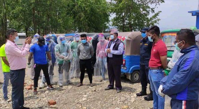 दाङकाे तुलसीपुरमा 'अटाे एम्बुलेन्स' सेवा सुरु