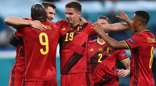 लुकाकुको दुई गोलमा बेल्जियमले रुसलाई हरायो