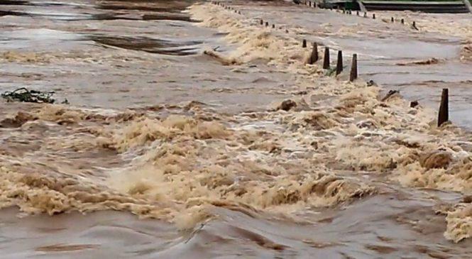 धेरै नदी तथा खोलामा बाढी : सचेत रहनआग्रह