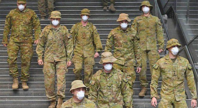 अष्ट्रेलियामा लकडाउन पालना गराउन सेना परिचालन