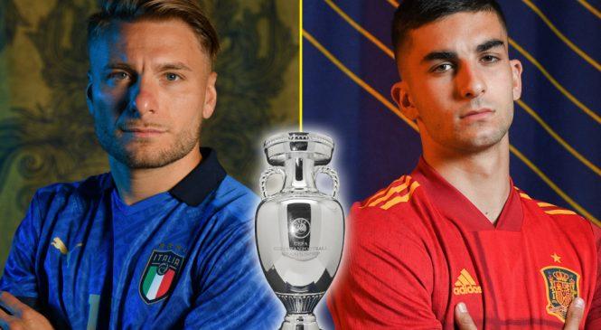 युरोको बहुप्रतिक्षित खेलमा इटली र स्पेन भिड्दै