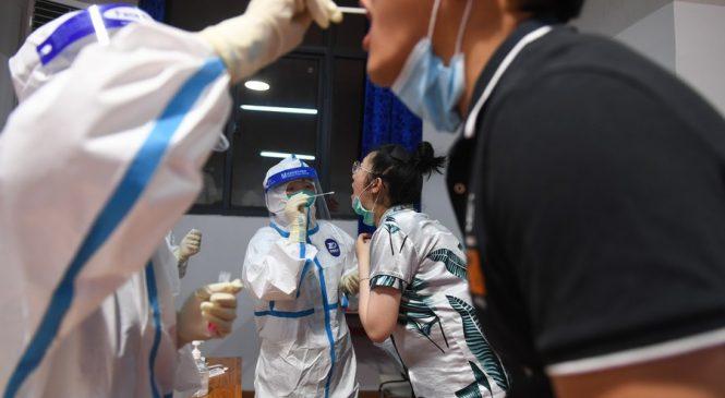 'डेल्टा भेरियन्ट'को संक्रमण देखिएसँग चीनका विभिन्न शहरमा यात्रा प्रतिबन्ध