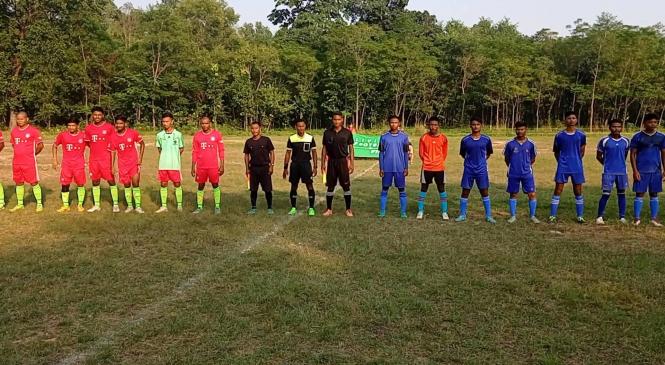 खुला फुटबल प्रतियोगिता: बेलौरी र बाँसगढी विजयी